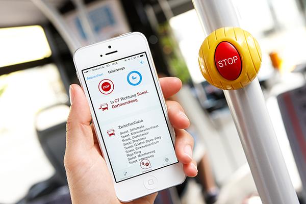 RLG Big Bird Busstop per App anfordern