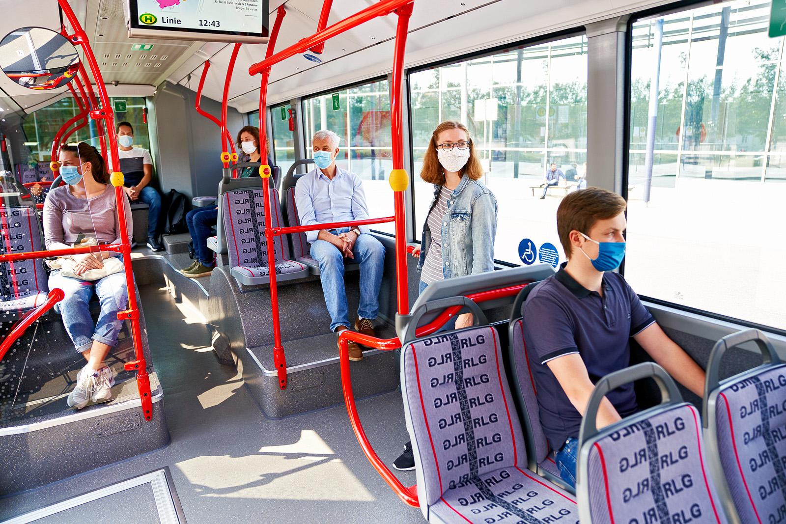 Big Bird Bus Innenansicht